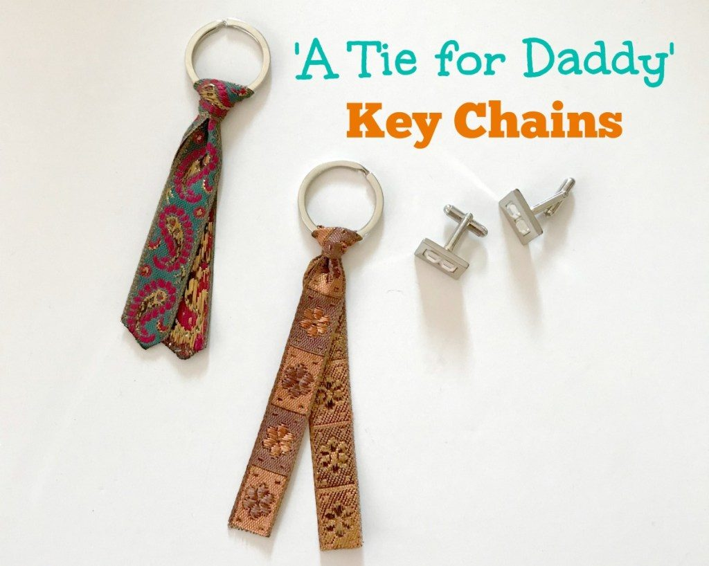 keychain ties for dad