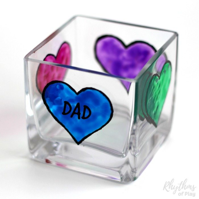 votive candle holder for dad