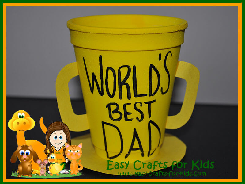 worlds best dad gift kids can make for dad