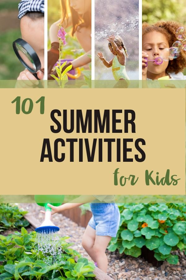 I'm super cheap so I love good cheap summer activities. I love a bunch of happy, engaged children. Check out these summer activities for kids.