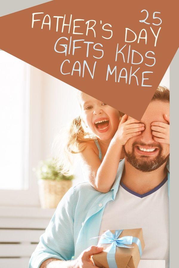 Kids love making things for their dads for Father's Day. It seems like it's a lot easier to think of gifts for mom than gifts for dads. Here is a great list of awesome Father's Day gifts preschoolers can make themselves.
