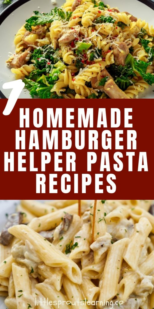 Convenience box meals are easy to recreate. You can have a healthy, one-pot, dinner on the table in no time with these homemade hamburger helper recipes.