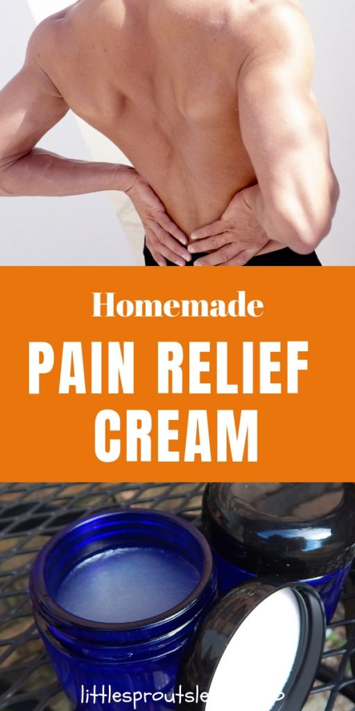 Once I made this recipe, I use my Sore Away Pain Relieving Cream all the time! Rub it on and in a few minutes, your sore muscles feel so much better.