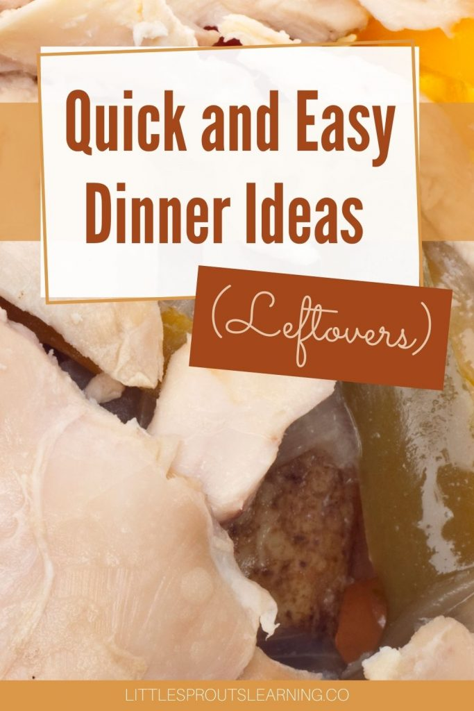 There is nothing better than using leftover food to make a new meal in just a few minutes. Dinner ideas leftovers is a welcome treat on a busy weeknight.