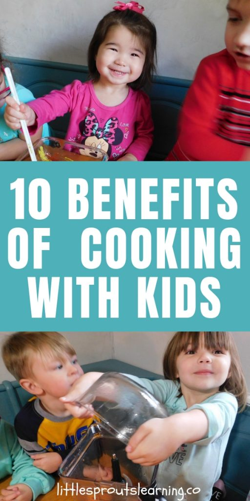Cooking with kids teaches them skills that give them a better future. There are many benefits of cooking with kids so jump in the kitchen with your kids.