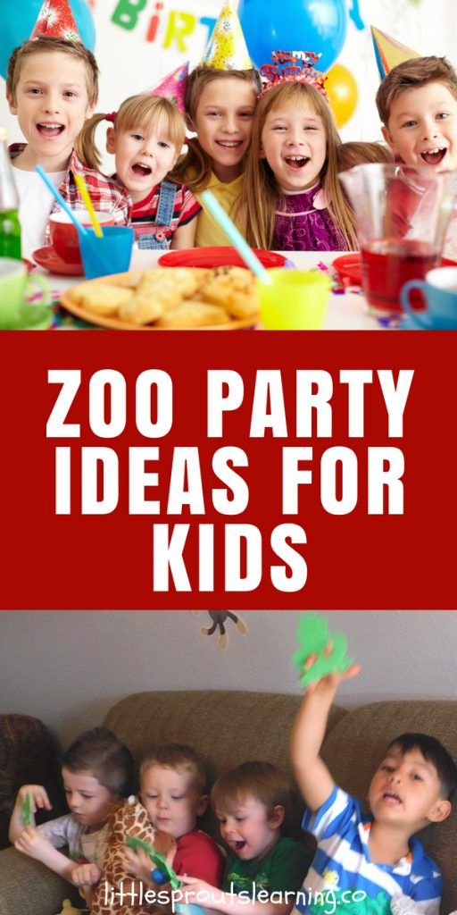 zoo party ideas for kids