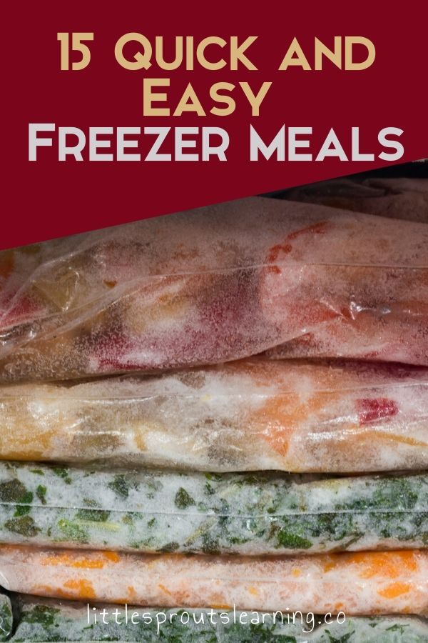 There's nothing better than being able to get dinner on the table in a snap. Check out these easy freezer meals you can pop out for a quick dinner.