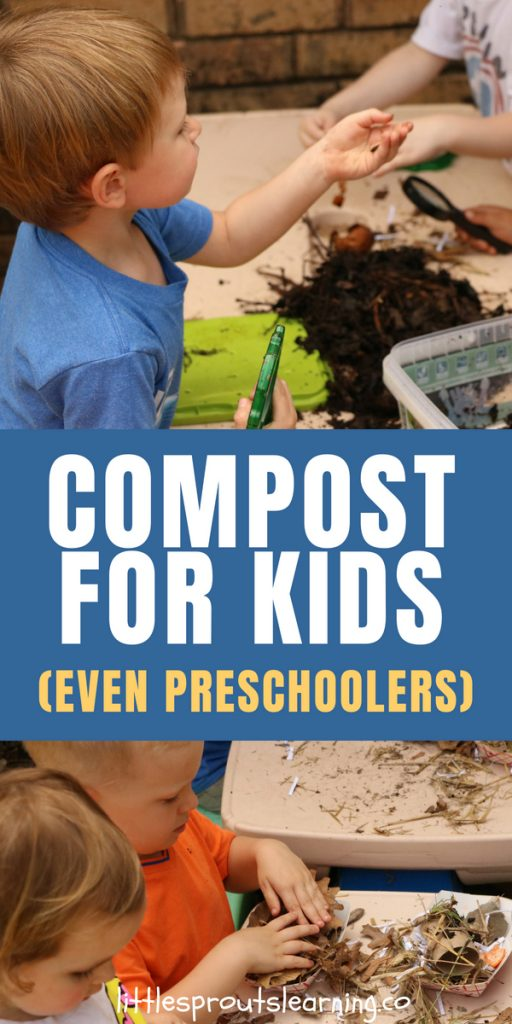compost for kids preschoolers