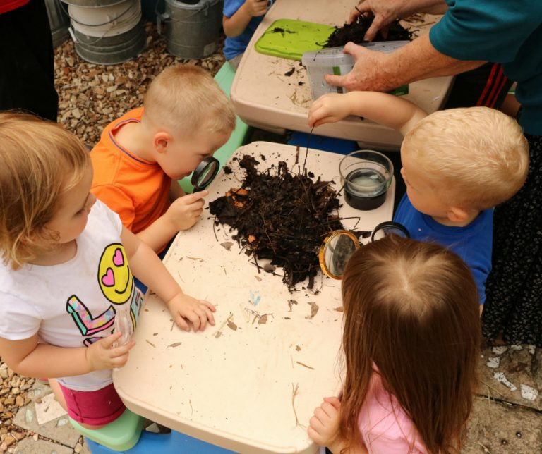 Compost for Kids (even Preschoolers)