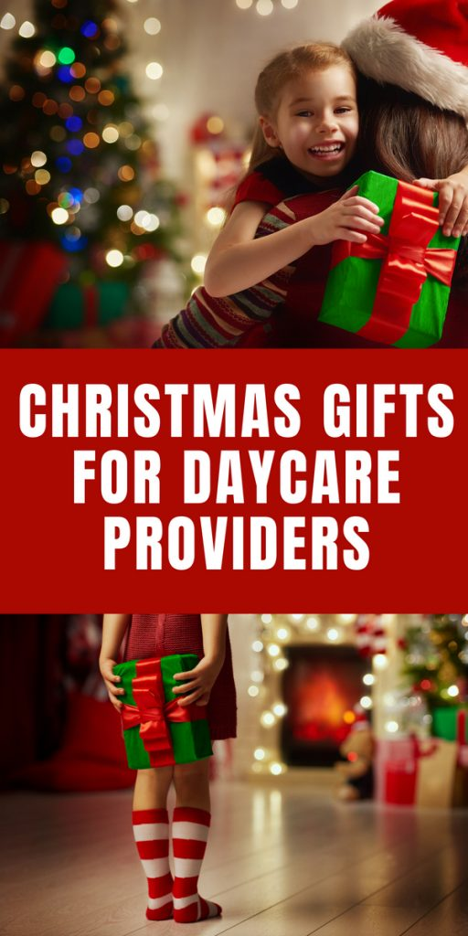 Christmas gift for daycare providers