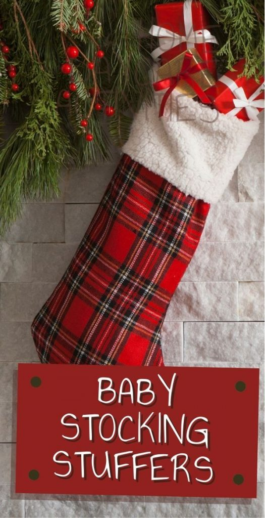 Do you need inspiration for baby stocking stuffers for Christmas? Check out these ideas for safe and fun gifts for baby.