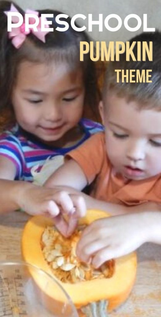 Kids love pumpkins. They are colorful, interesting, and make us think of fall and Halloween. Check out this Preschool Pumpkin Theme with ideas that aren't just crafts.