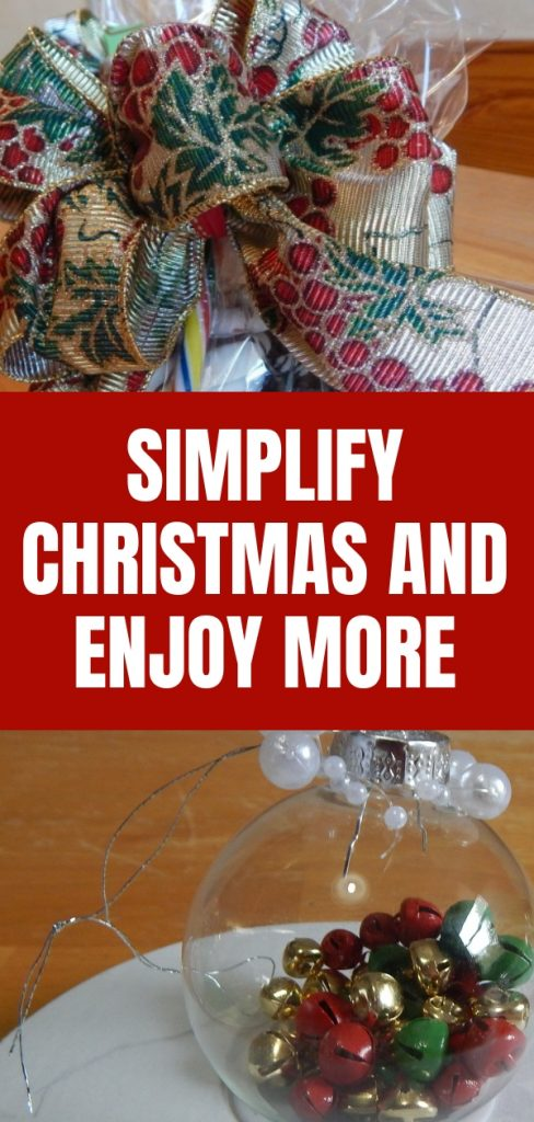 SImplify Christmas and Enjoy More