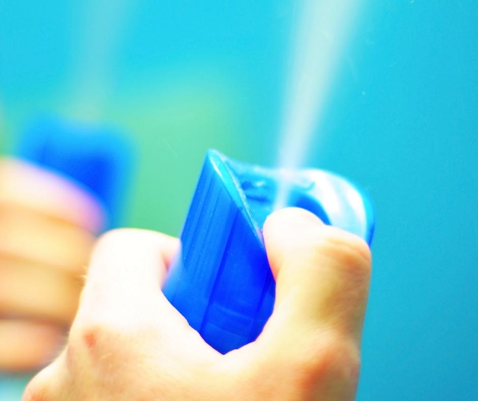 aerosol spray air freshener