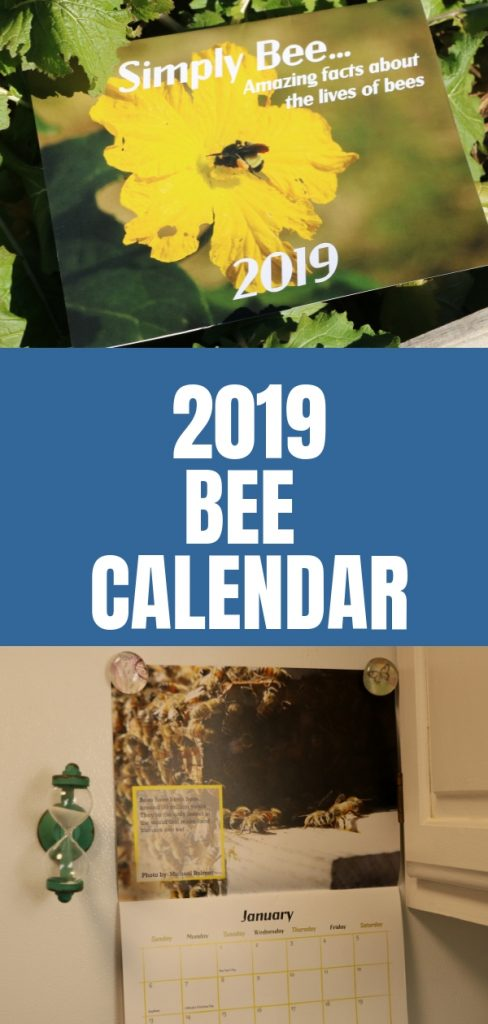 2019 Bee calendars