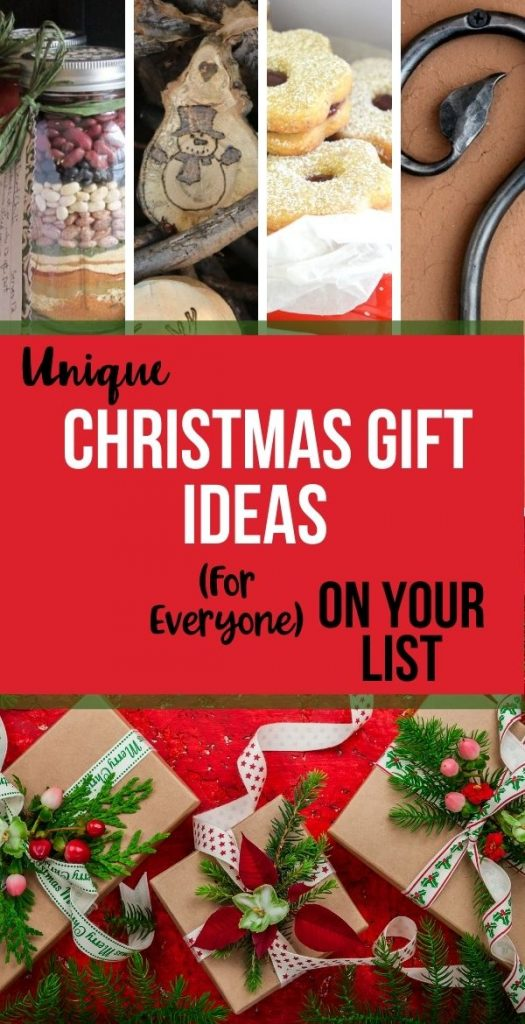 Everything you need to handle your Christmas list in one place with unique Christmas gift ideas! The ultimate list of thoughtful gifts for everyone.