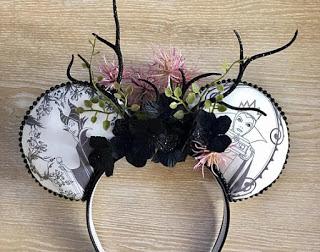 villan mickey mouse headband