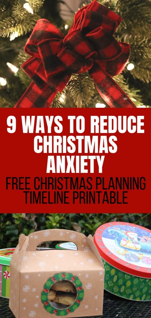 Does the Christmas chaos have you stressed out? It doesn't have to. Your holidays can be peaceful. Find out more with these 9 ways to reduce Christmas anxiety