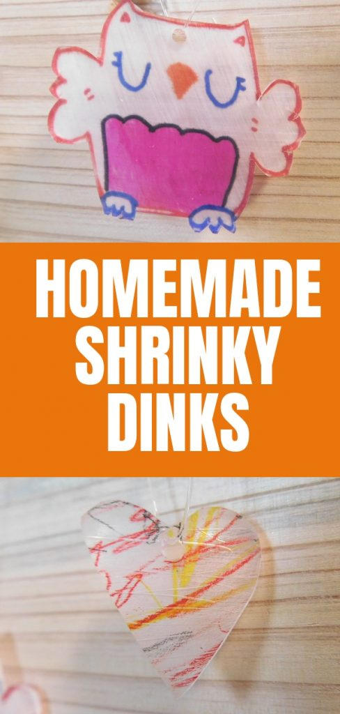 Making Valentine Shrinky Dinks is tons of fun but did you know you can make your own homemade Shrinky dinks for free with what you already have around the house?