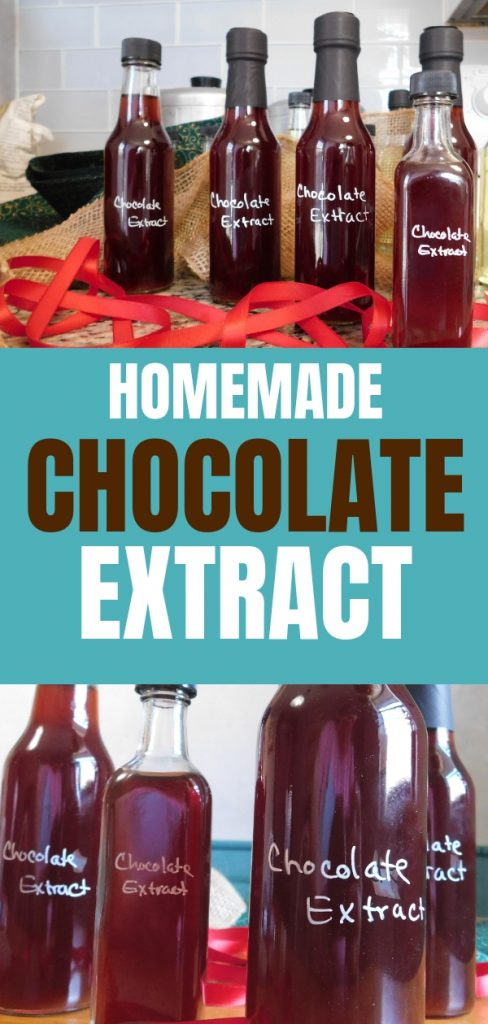 Try making your own chocolate extract. Replacing expensive vanilla with homemade chocolate extract gives an amazing depth of chocolate flavor. Find out more.
