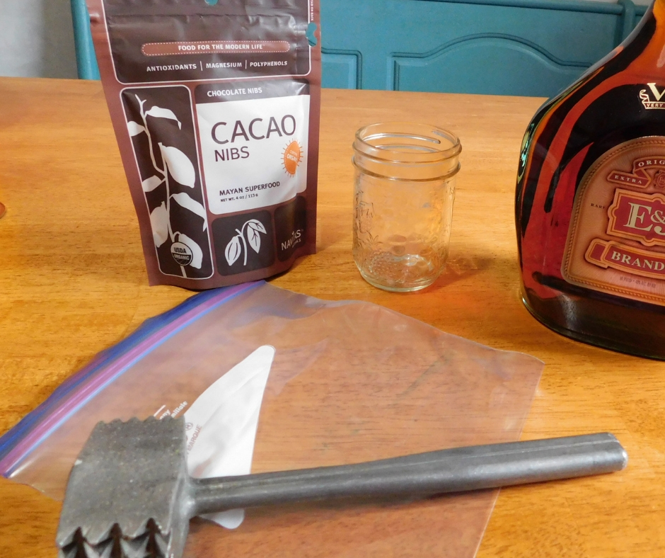 Homemade Chocolate Extract