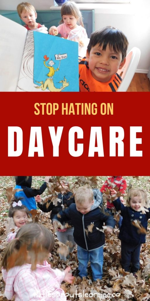 What do you think of daycare? Is your first thought, why do people put kids in daycare? Are you just hating on daycare or do you know what really goes on?