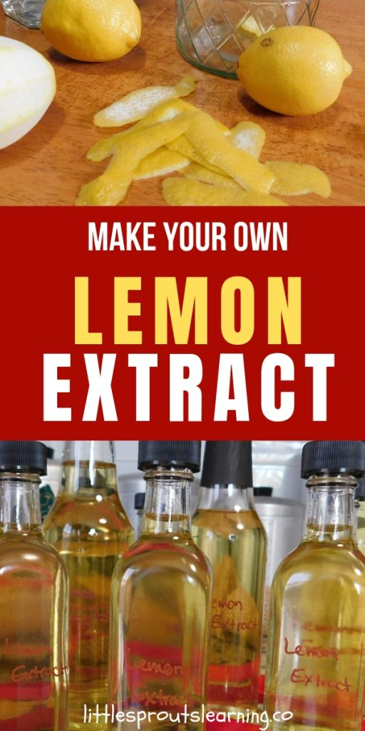 I love making my own extract so I thought I would try my hand at lemon. It turned out so fresh and lemony, so much different than store bought.