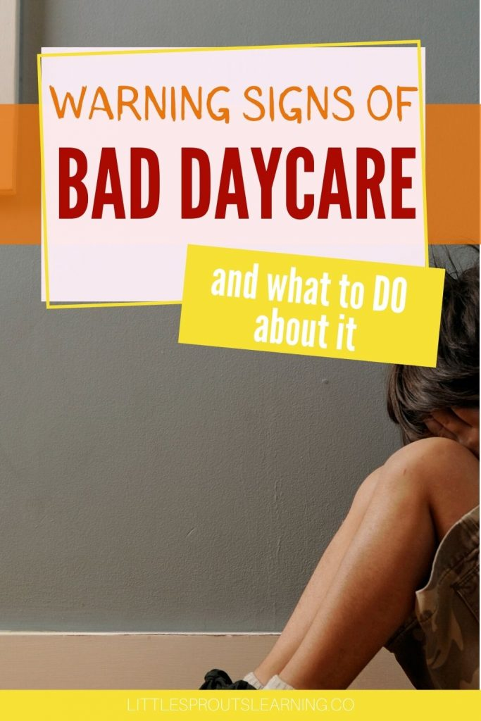 Are you feeling uneasy about your child's daycare and you're not sure if you're just imagining it? Check out how to spot the signs of bad daycare.