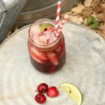 Who doesn't agree that Sonic has yummy cherry limeades? Here's a cherry limeade recipe with the fun fizzy flavor but no artificial colors or corn syrup.