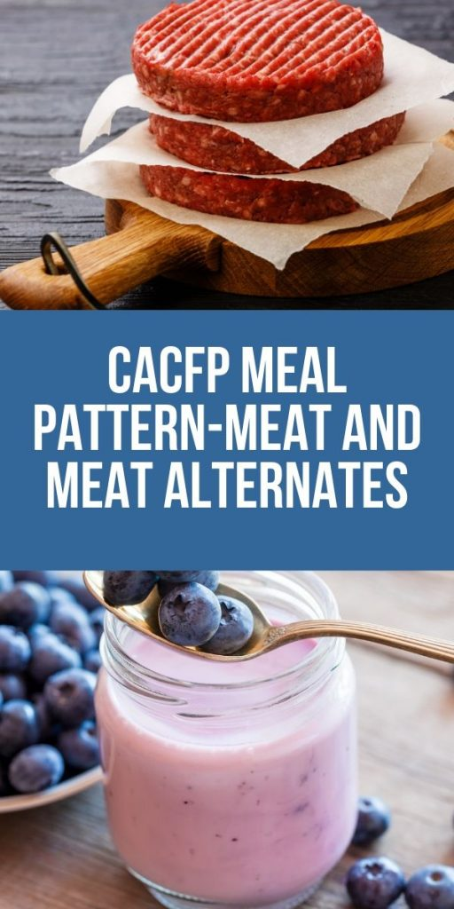 Do you tire of the same ole proteins for your kids? Check out the variety of meat and meat alternates the food program allows.