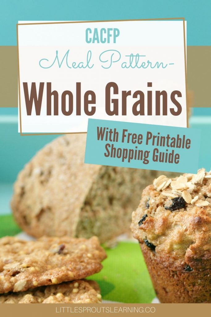 Do you find yourself beating your head against the wall about the whole grains requirement for the food program? It's not as hard as you think and this will make it even easier!
