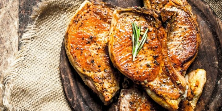 Pork is one of my favorite meats. I love bacon, pork chops, ribs, roast, all the pork. I love having quick easy dinners with pork.
