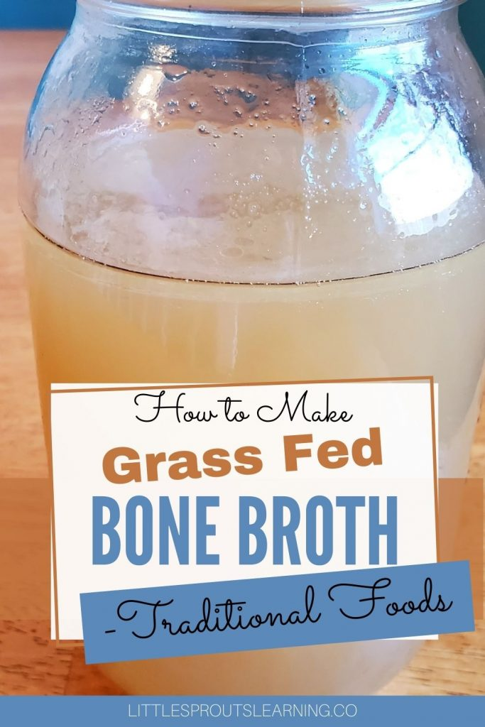 Making traditional foods like bone broth is good for your family, good for your health, and good for your wallet. Bone broth is full of nutrition and essentials your body needs for function and healing. Read more to see how to make grass fed bone broth for your health.