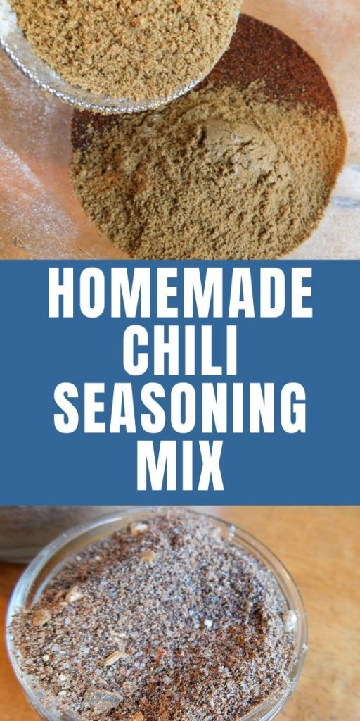 Who doesn't love a big ole pot of chili during the cool weather? With this homemade chili seasoning mix, you'll make the best chili around.
