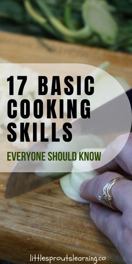 If you learn basic cooking skills, you can pretty much learn to cook anything from there. Check out where to start with the basics.