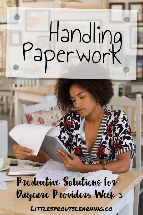 Handling paperwork can be one of the most overwhelming parts of having a home daycare. Check out how to simplify handling paperwork for your home daycare.