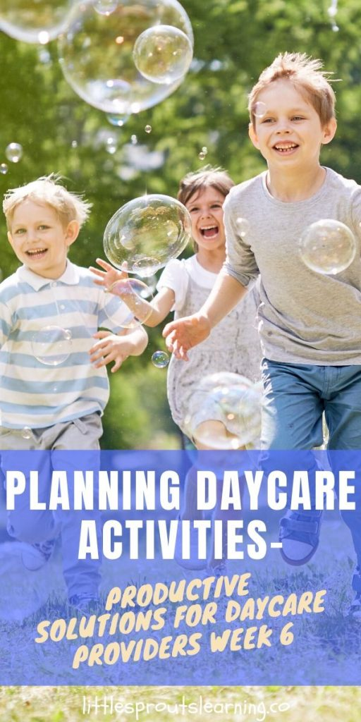 Planning daycare activities can seem like a daunting task. Making lesson plans is time-consuming but you can save time by using a few of these tips.