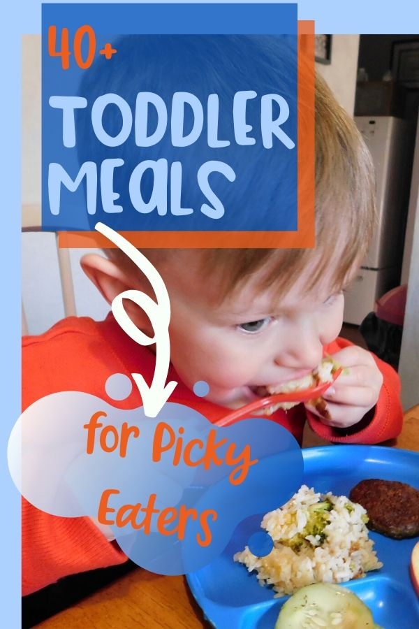 How many times have I heard a parent or daycare provider say my toddler won't eat anything? More times than I can count. These toddler meals for picky eaters can help!