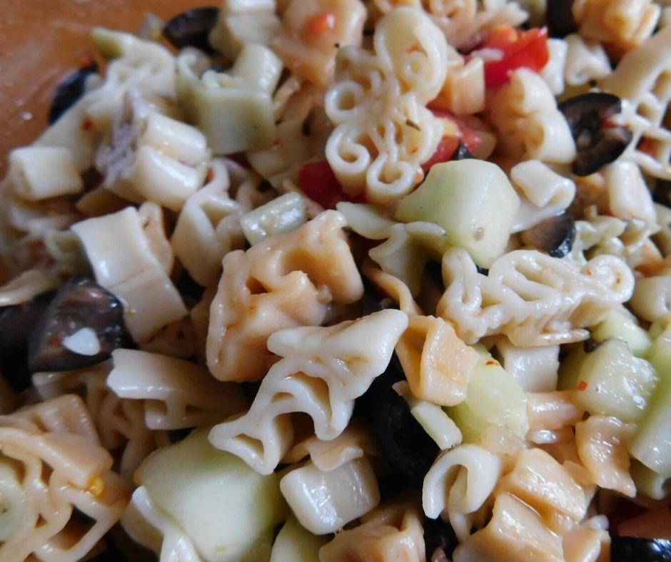 shark pasta salad