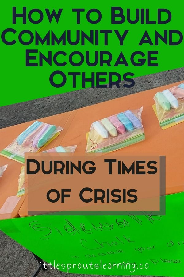 I don't know about you, but when something bad happens, I want to help. I think we are all in it together and we need to do what we can to encourage others during times of crisis.