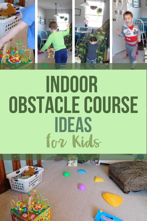 Sometimes a rainy day gets out of hand. That's a perfect time to create an indoor obstacle course for your kids. Use up that energy, be creative, and have hours of fun!