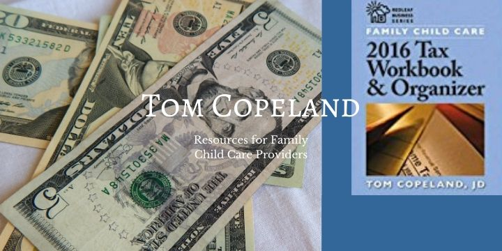 Tom Copeland Resources for Family Child Care Providers