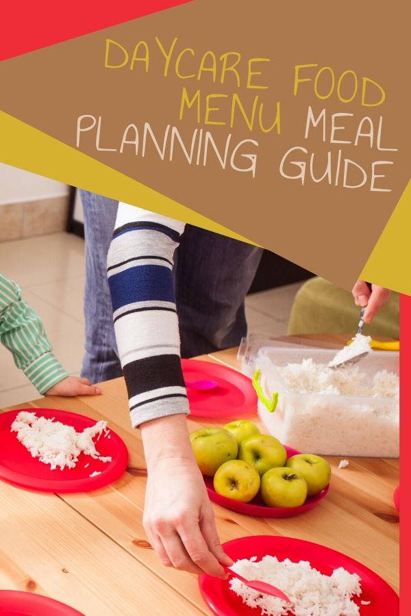 Planning meals that meet food program requirements and the kids will eat can be daunting. Check out this daycare food menu meal planning guide for help!