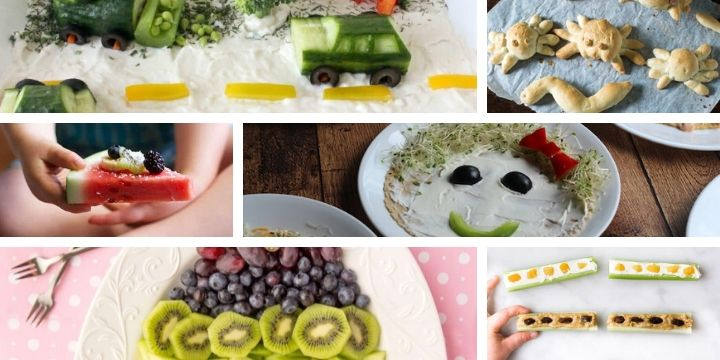 There's no better way to get kids to want to eat healthy food than to make it look fun! Check out these fun toddler snacks that are healthy too!