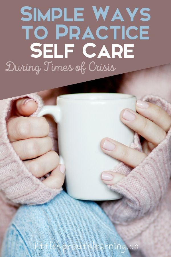 We all feel the stress sometimes. We all get overwhelmed. Here are some simple ways to relieve stress practice self care during times of crisis.
