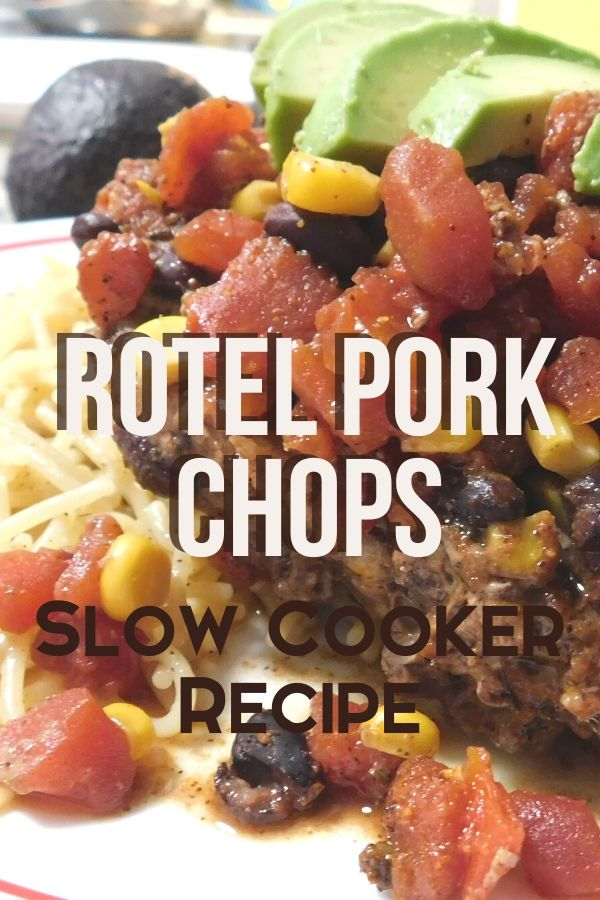 There's nothing better than a fix it and forget it meal that doesn't heat up the kitchen. I love my crock pot in the summer! Try this rotel pork chops slow cooker recipe for tonight!