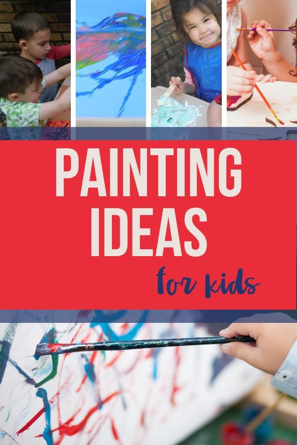 Painting for kids is a wonderful sensory experience that also develops their creativity. There are so many benefits to teaching kids to paint.