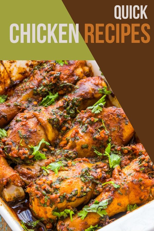 I love a meal that can come together in a few minutes. These quick chicken recipes are your answer for dinner tonight.