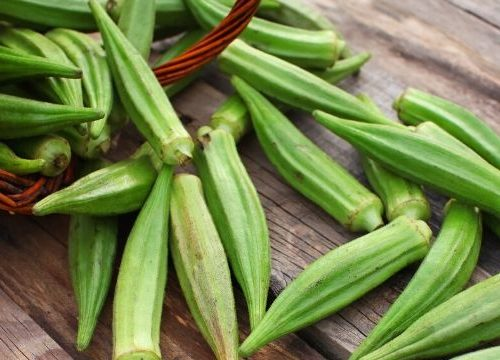 When the summer gets hot and humid in the south, the okra plants wake up and put out tons of excess okra at once. What can you do with okra that you can't eat right now?