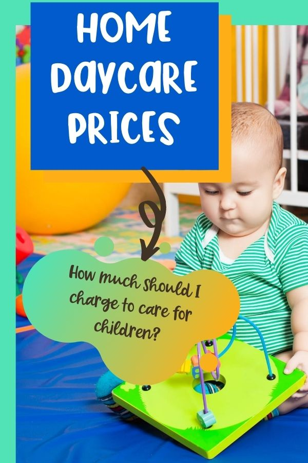 How much you charge for your home daycare fees depends on many factors. People ask me all the time about home daycare prices and how to set them. Here are some things to consider.